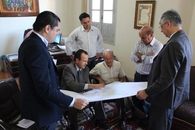 Projetos foram apresentados no gabinete