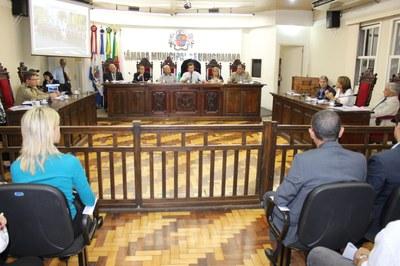 Autoridades brasileiras e argentinas