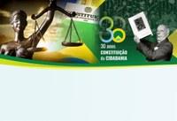 30 anos da CF registrados com palestras na Câmara