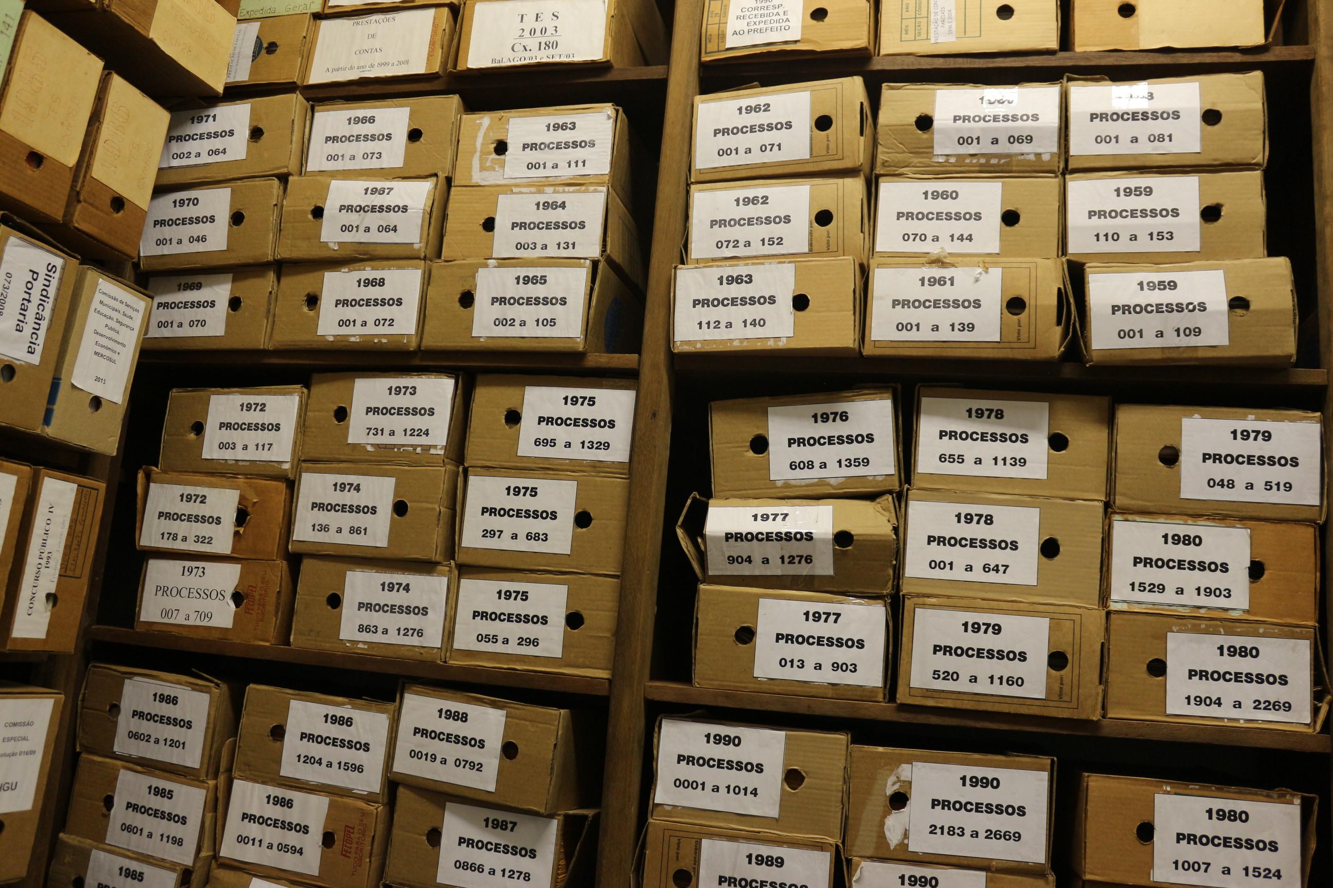 Arquivo permanente da Câmara é regulamentado