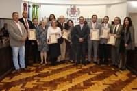 Trabalho do Rotary há mais de 100 anos é homenageado na Câmara