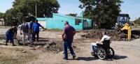 Câmara acompanha obras na Umbelino Gomes