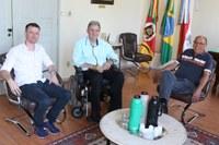 Chefes do Legislativo e Executivo reúnem-se na Câmara