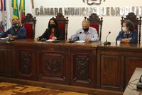 Comissão promoveu audiência para contas do SUS