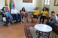 Demandas sobre acessibilidade são apresentadas no Parlamento