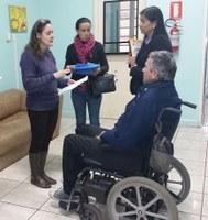 Determinada internação de morador de rua próximo a Escola Marília S. F.