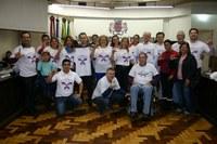 Dia Mundial da Luta contra o Lúpus é celebrado na Câmara Municipal