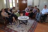 Grupo Fantásticas Mulheres visita presidente