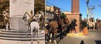 """Instituído """"Dia da Cavalgada Cavalos no Obelisco"""""""