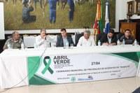 Legislativo participa de Seminário de Prevenção de Acidentes de Trabalho