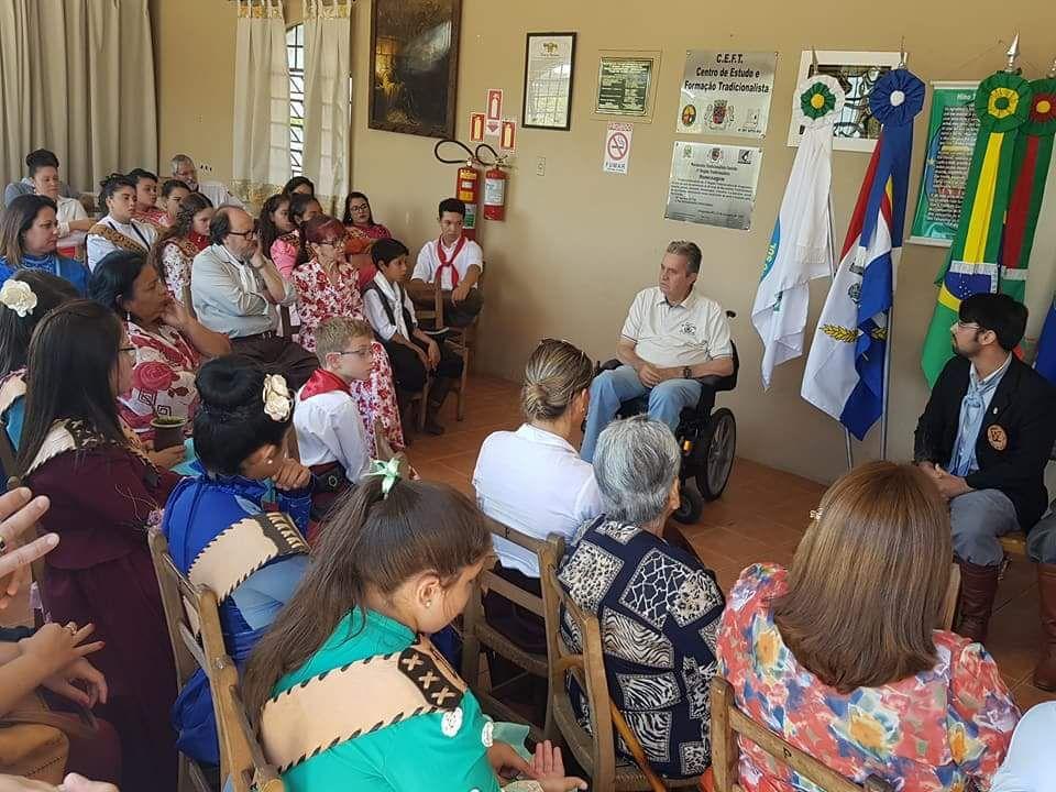 Câmara participou de Encontro de Peões da 4ª RT