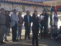 Legislativo presente na inauguração de salas de E.M.E.I. Monteiro Lobato