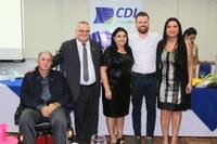 Legislativo prestigia nova diretoria da CDL