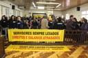 Legislativo recebe protesto do funcionalismo municipal