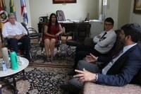 Legislativo recebe vice-presidente eleito do TRT-4-RS