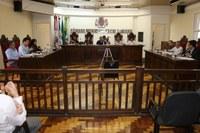 Lideranças reunidas para tratar de Lei do ISSQN