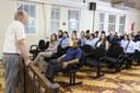 Novo presidente reúne servidores por trabalho colaborativo