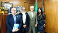 Parlamentar trata de IGP, Conselho do Idoso e Políticas para mulheres na capital