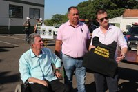 Presidente participa de entrega de equipamentos à Guarda Municipal