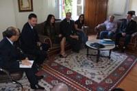 Presidente recebe gestores de curso de Direito em Uruguaiana