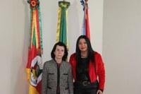 Presidente recebe visita da Consulesa