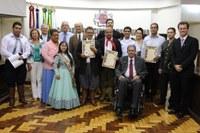 Promotores da Paz são reconhecidos no Parlamento