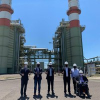 Reativada termelétrica de Uruguaiana