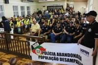 Servidores estaduais buscam apoio do Legislativo
