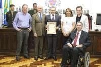 Sessão Especial marca passagem de 95 anos do Banco do Brasil no município