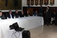 Vereadores participam de encontro com a VIVO